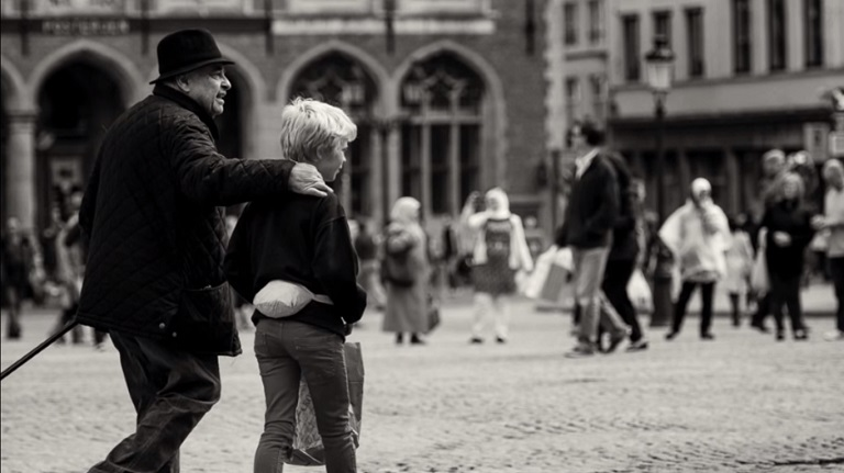 B&W Street Photography Post Processing Tutorial