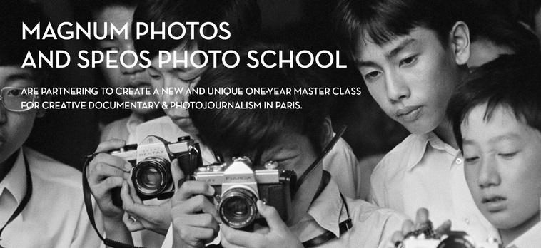 TEARSHEET. Magnum Photos & Speos Photo School. 2015.