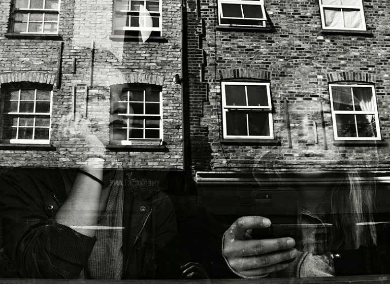Reflections in Brick (Lane)