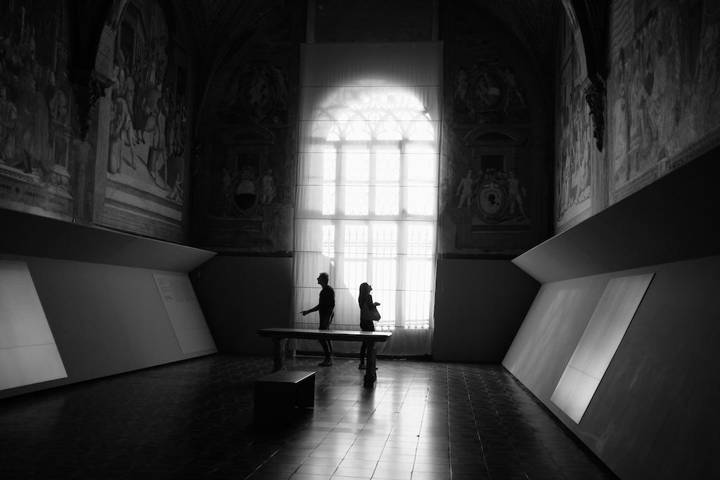 Inside Santa Maria della Scala