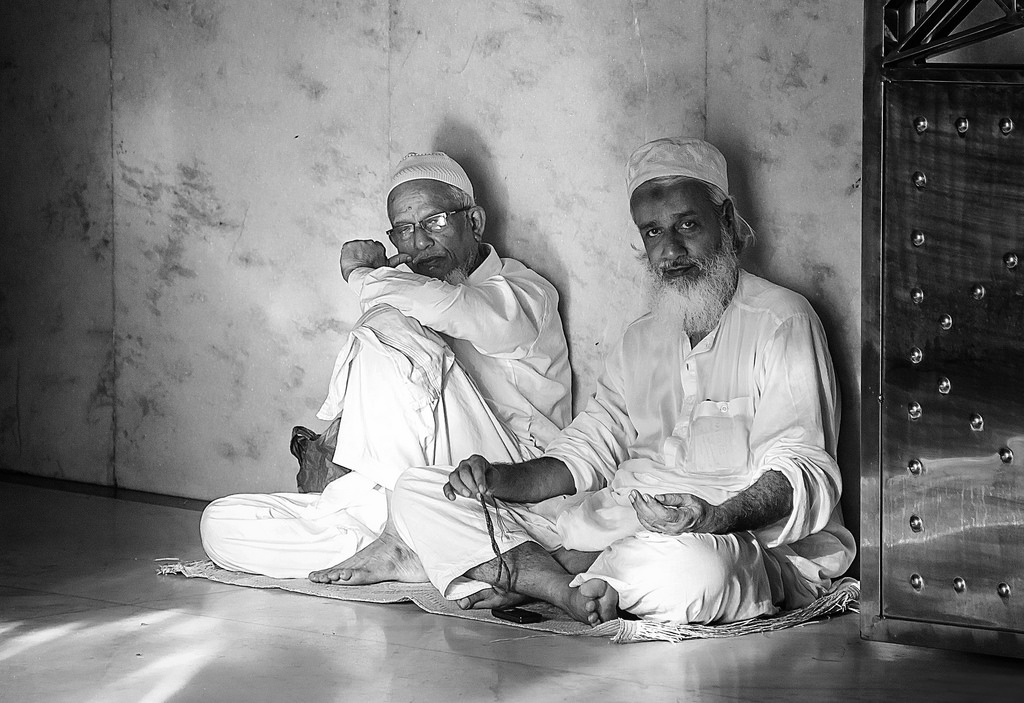 A Moment of Peace After Prayers