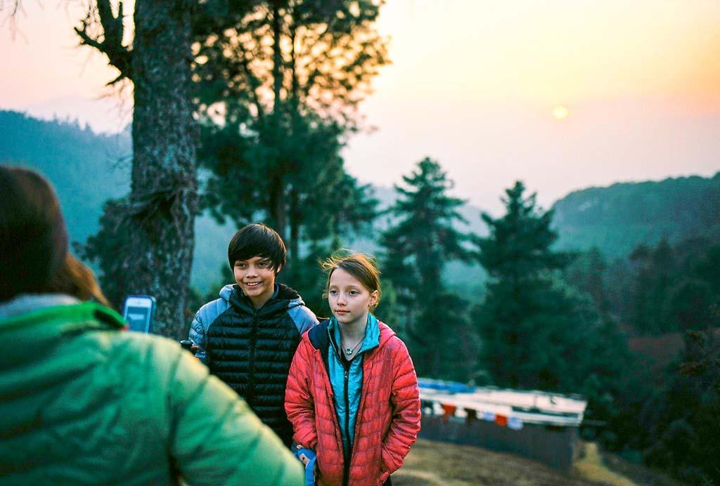 Hiking Trail, Nepal 2016 Kodak Ektar 100
