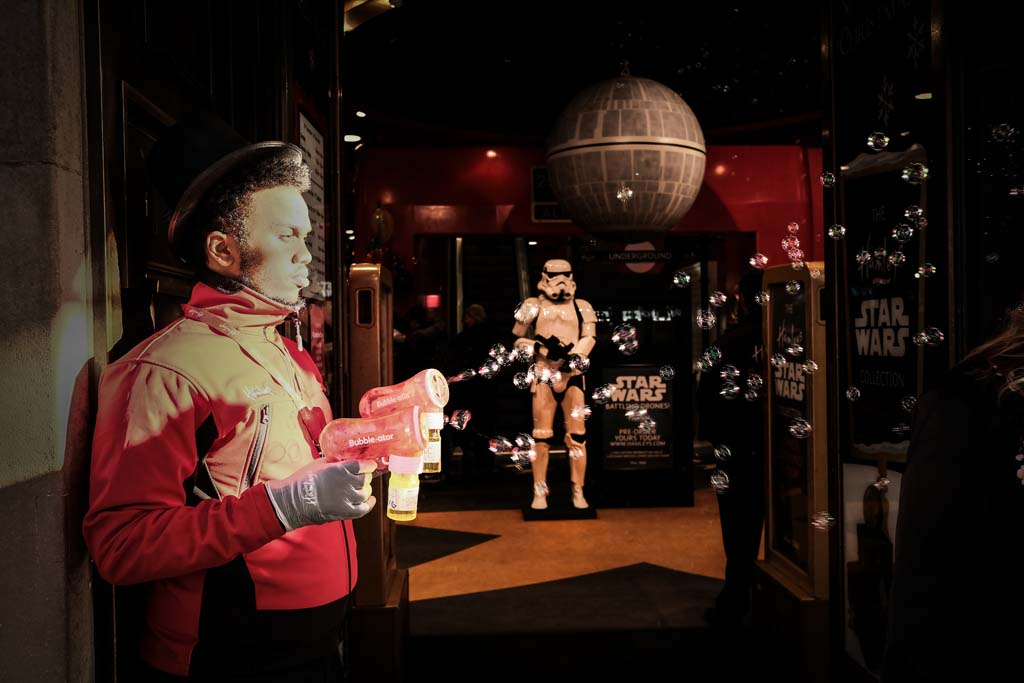 Jedi Training Day One: Bubble Guns