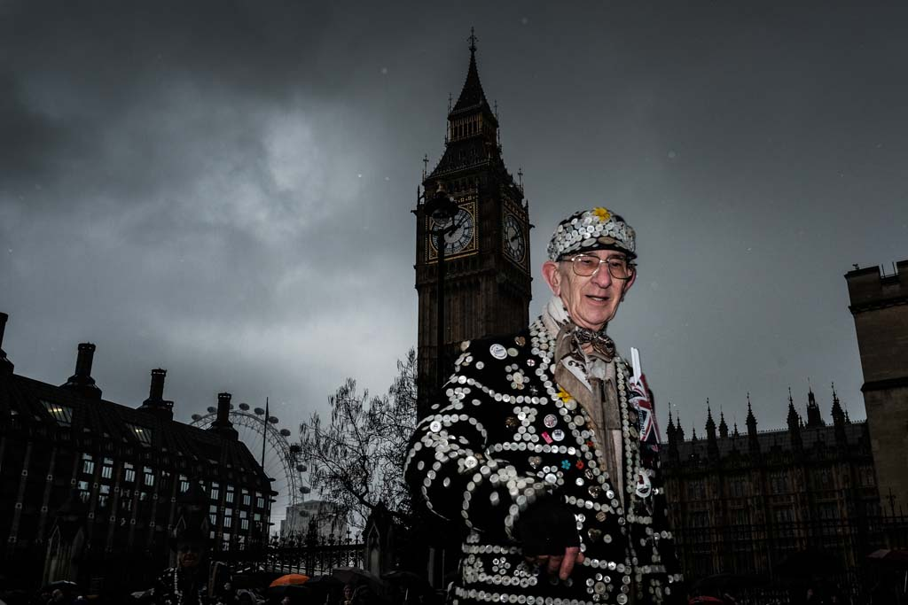 The Pearly King of Newham