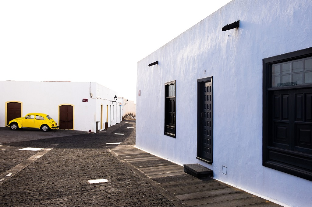 In Teguise, the former capital city of Lanzarote,Canaries.