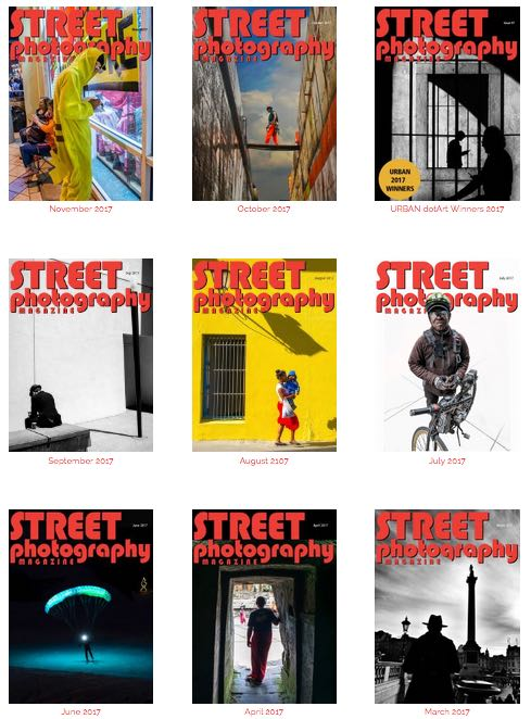 Street Photography Magazine Gift Subscription