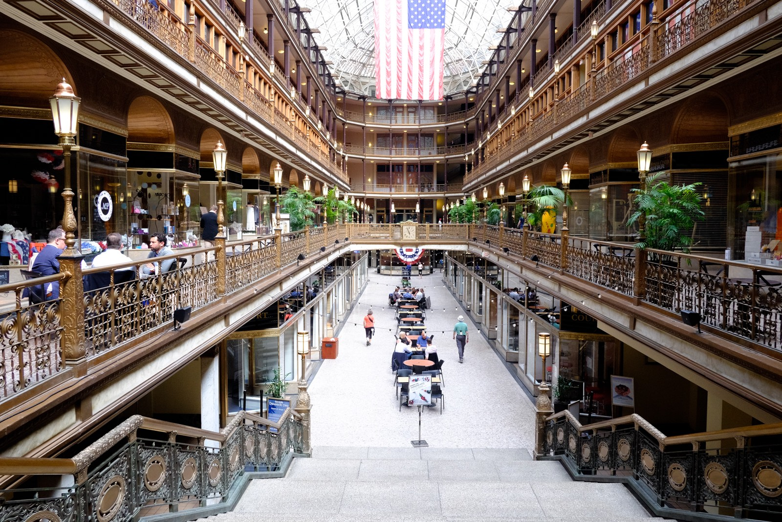 The Old Arcade in Cleveland