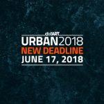 New Deadline for URBAN 2018 Photo Awards