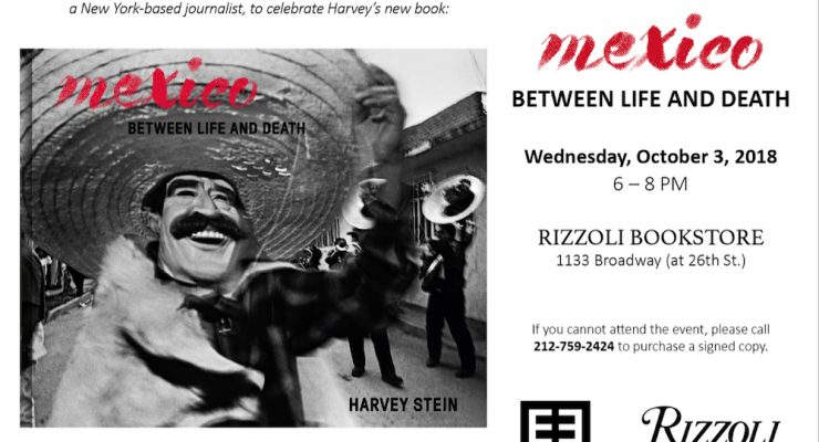 Harvey Stein Book Signing – October 3 in NYC