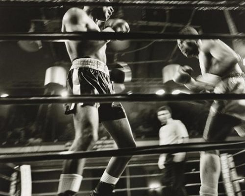 A Ringside View by Larry Fink
