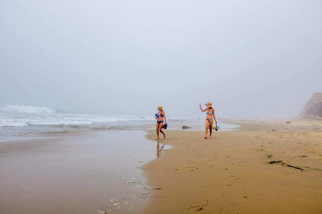Crystal Cove on a Foggy Morning