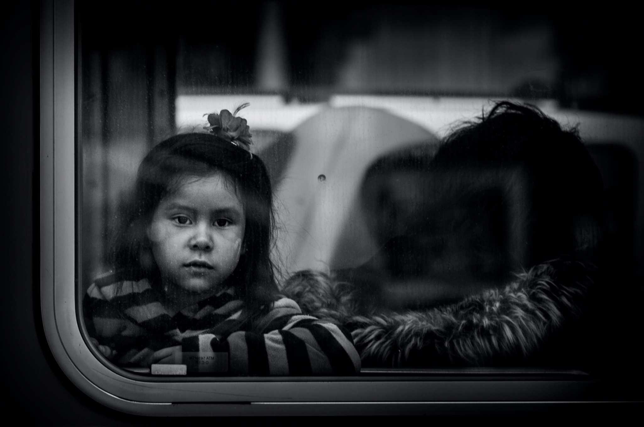 Girl on a Bus
