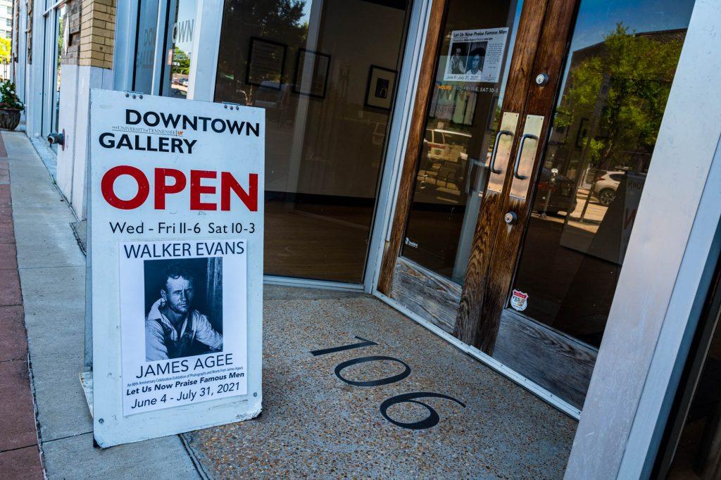 Walker Evans Exhibit Knoxville, Tennessee